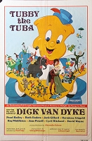 Tubby the Tuba, 1975, NYT Animation, Original 1 Sheet (27x41)