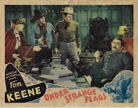 Under Strange Flags, 1937,  Lobby Card (11x14