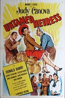Untamed Heiress, 1954, Judy Canova, Original 1 Sheet (27x41)