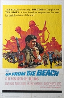 Up from the Beach, 1965, Cliff Robertson, 1 Sheet (27x41)