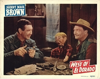 West of El Dorado, 1949,  Lobby Card (11x14