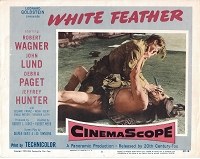 White Feather, Original Lobby Card , 1955, 11x14
