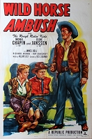 Wild Horse Ambush, 1952, Michael Chapin, Original 1 Sheet (27x41)
