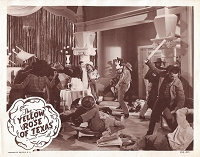 Yellow Rose of Texas, Original Lobby Card , R54, 11x14