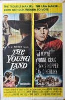 Young Land, 1959, Patrick Wayne, Original 1 Sheet (27x41)