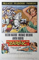 Zarak, 1956, Victor Mature, 1 Sheet (27x41)