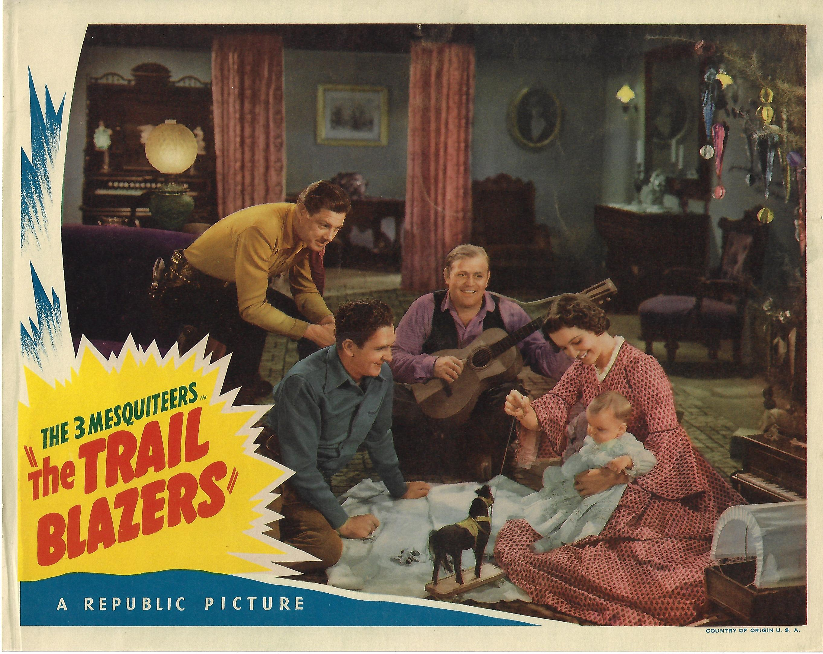 Trail Blazers, Lobby Card, 1940,  11x14