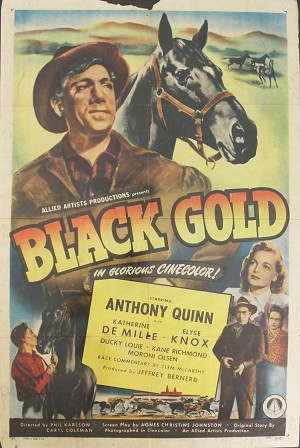 Black Gold, 1947, Original 1 Sheet (27x41