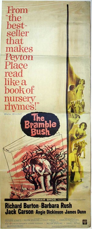Bramble Bush, 1960, Original Insert, (14x36