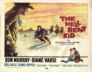 Hell Bent Kid, Title Card , 1958, 11x14