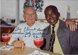 Ike Williams 1923-1994, Boxer,  Candid Autographed Photo (4x6)