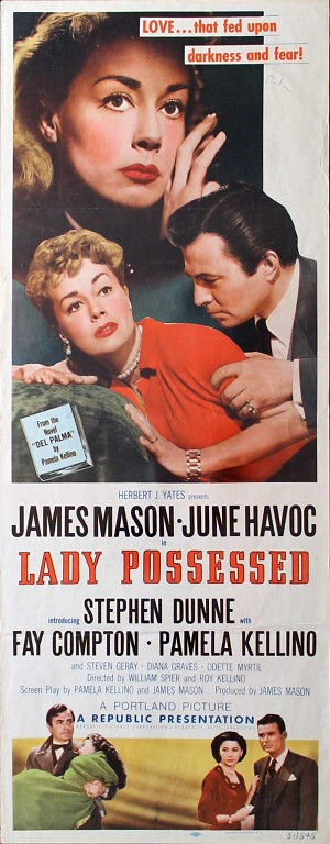 Lady Possed, 1951, James Mason, Original Insert (14x36)