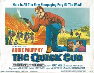 Quick Gun, 1964, Audie Murphy, Title Card , ( 11x14)