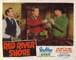 Red River Shore, Lobby Card , 1953, 11x14