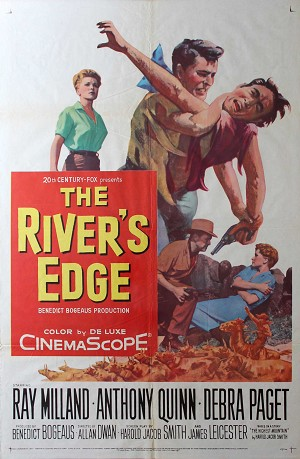 The Rivers Edge, 1957, Ray Milland, 1 Sheet (27x41)
