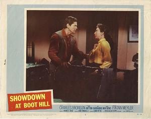 Showdown at Boot Hill, Lobby Card , 1958, 11x14