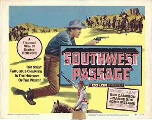 Sothwest Passage, Title Card , 1954, 11x14