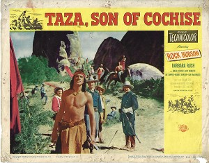 Taza, Son of Cochise, Lot of 2 Lobby Cards , 1954, 11x14
