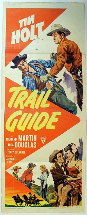 Trail Guide, 1952, Original Insert, (14x36