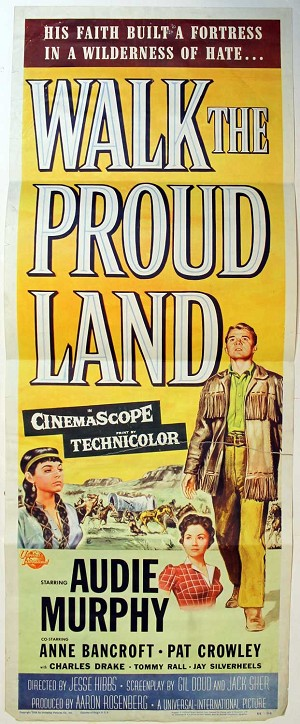 Walk the Proud Land 1956, Original Insert, (14x36