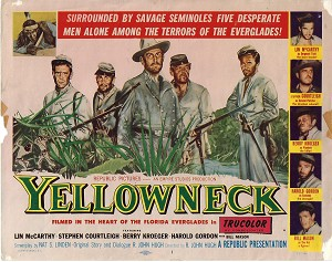 Yellowneck, Original Title Card , 1955, 11x14